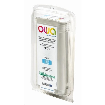 OWA Armor cartridge pro HP DesignJet Z 2100, 3100, 130ml, C9390A, light Cyan