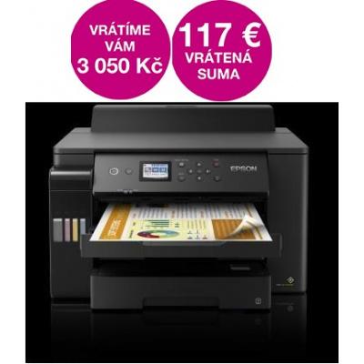 EPSON tiskárna ink EcoTank L11160, A3+, 25ppm, 1200x4800 dpi, USB, Wi-Fi,  3 roky záruka po registraci