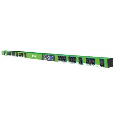 Eaton rozvodný panel EPDU MA 0U (309 32A 3P)18XC13:6XC19, zelený