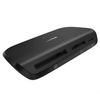 SanDisk čtečka karet, USB 3.1 ImageMate Reader for SD, CF and mSD Cards