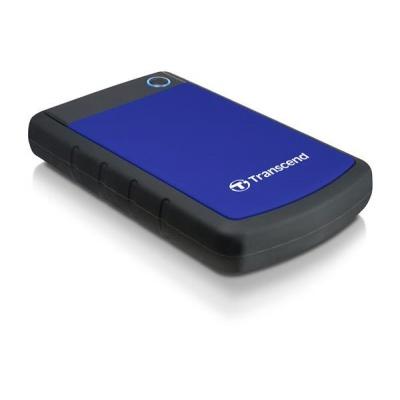 """TRANSCEND externí HDD 2,5"""" USB 3.0 StoreJet 25H3B, 4TB, Blue (nárazuvzdorný)"""