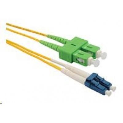 Solarix Patch kabel 9/125 LCupc/SCapc SM OS1 1m duplex SXPC-LC/SC-UPC/APC-OS1-1M-D