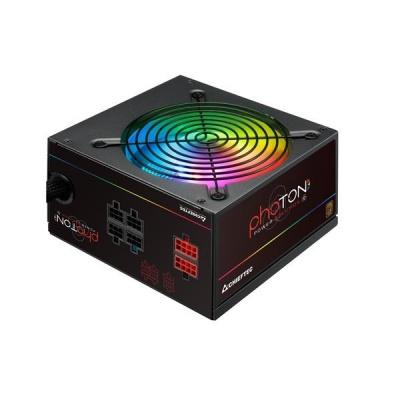 CHIEFTEC zdroj Photon Series, CTG-750C-RGB, 750W, 12cm RGB fan, Active PFC, Modular, Retail, 85+