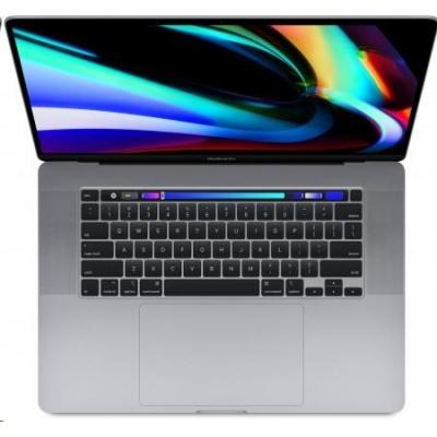Apple MacBook Pro 16 Touch Bar/6-core i7 2.6GHz/16GB/512GB SSD/Radeon Pro 5300M w 4GB - Sp.Grey - CZE KB