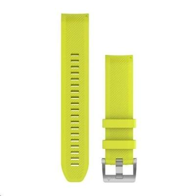 Garmin řemínek pro MARQ - QuickFit 22, silikonový, žlutý