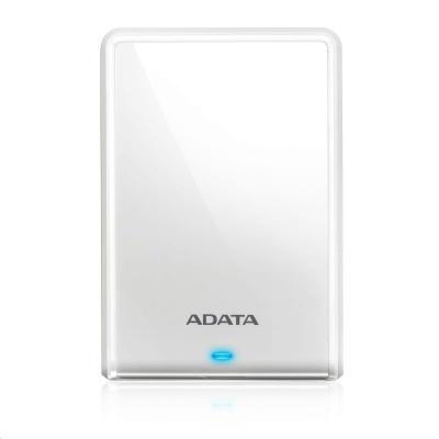 """ADATA Externí HDD 2TB 2,5"""" USB 3.0 DashDrive HV620S, bílá"""