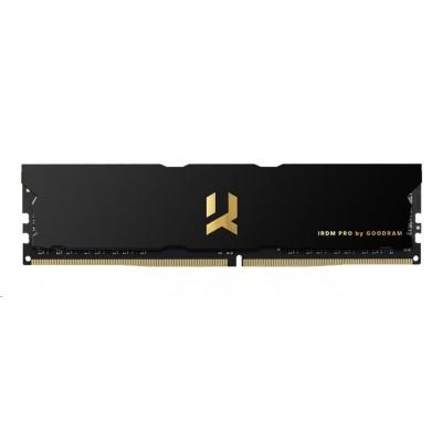 DIMM DDR4 16GB 3600MHz CL17 SR (Kit 2x8GB) GOODRAM IRDM PRO, black/gold