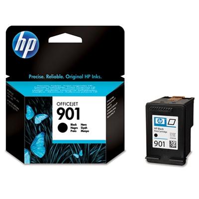 HP 901 Black Ink Cart, 4 ml, CC653AE