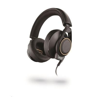 PLANTRONICS herní sluchátka s mikrofonem RIG 600, černá