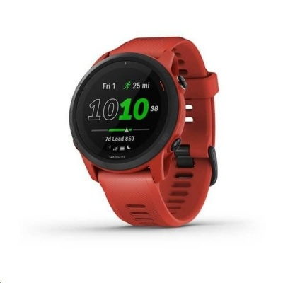 Garmin GPS sportovní hodinky Forerunner 745 Music Red