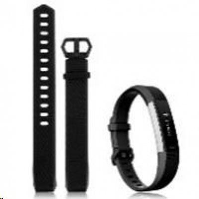 eses silikonový řemínek černý ve velikosti S pro Fitbit Alta HR