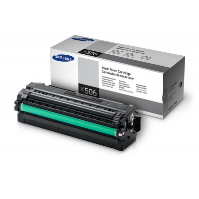 Samsung CLT-K506L High Yield Black Toner Cartridge