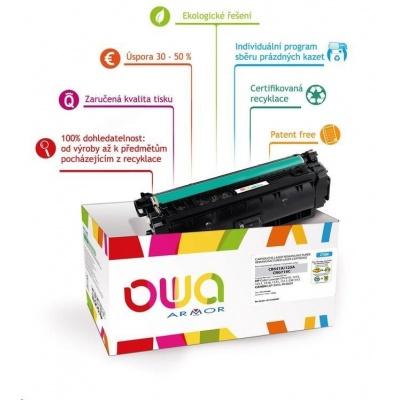 OWA Armor toner pro HP Color Laserjet Ese M880, 32000 Stran, CF303A, červená/magenta