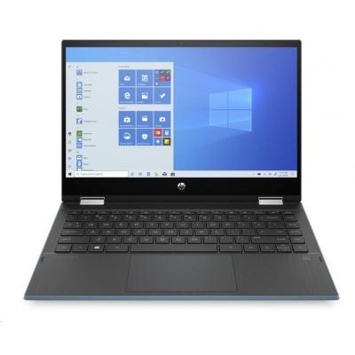 "HP NTB Pavilion x360 14-dw0000nc;Touch/14"" FHD AG IPS;i3-1005G1;4GB DDR4 3200;128GB SSD;Intel UHD;teal;WIN10"