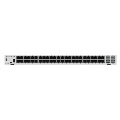 Netgear GC752X Insight Managed 52-Port Gigabit Smart Cloud Switch, 48x gigabit RJ45, 2x 10GbE SFP+, 2x SFP