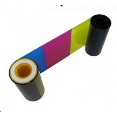 ZEBRA P330i/P430i, YMCKO, barevná barvící páska pro potisk 330ks plastových karet