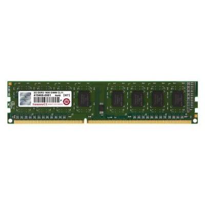 DIMM DDR3 2GB 1600MHz TRANSCEND JetRam™, 256Mx8 CL11