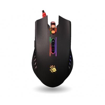 A4tech BLOODY Q81 herní myš, 3200DPI, USB, černá