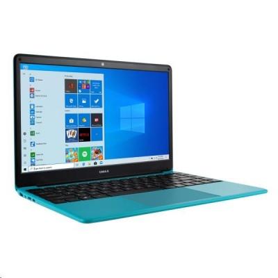 "UMAX NB VisionBook 14Wr Turquoise - 14,1"" IPS FHD 1920x1080, Celeron N4020@1,1 GHz, 4GB,64GB, Intel UHD,W10P, Tyrkysová"