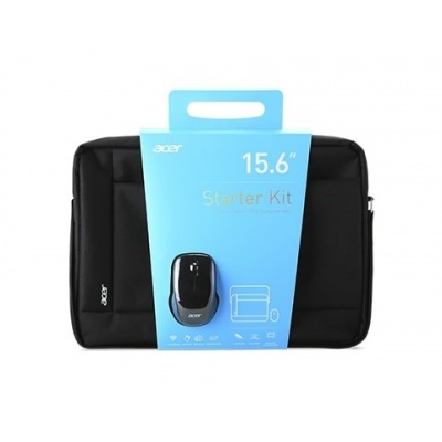 """ACER STARTER KIT_15.6"""" ABG960 carrying bag black and wireles mouse black, 1Y carry-in"""