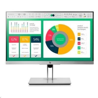 """HP LCD E223 21.5"""" 1920x1080, panel IPS w/LED micro-edge, jas 250 cd/m2, 1000:1, 5 ms g/g, VGA, DP 1.2, HDMI 1.4, USB3.0"""