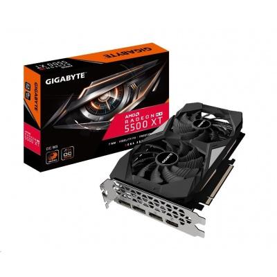 GIGABYTE VGA AMD Radeon RX 5500 XT OC 8G, 8GB GDDR6, 1xHDMI, 3xDP