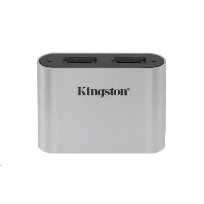 Kingston USB3.2 Gen1 Workflow Dual-Slot microSDHC/SDXC UHS-II Card Reader