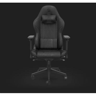 SPC Gear herní židle SR600 BK, imitace kůže, černá