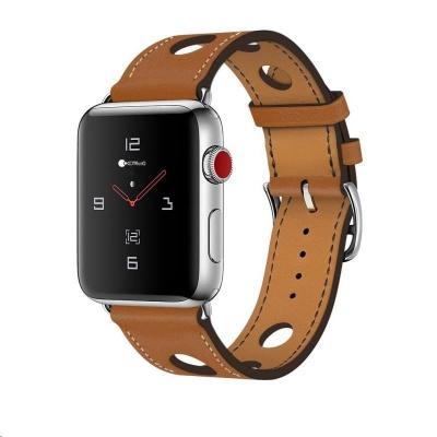 COTEetCI kožený řemínek pro Apple Watch 42 / 44mm hnědá
