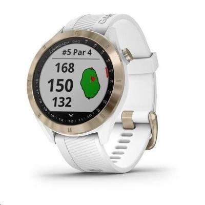 Garmin Golfové GPS hodinky Approach S40 Premium White