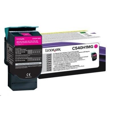 LEXMARK toner magenta pro C540/C543/C544/X543/X544 na 2000 stran