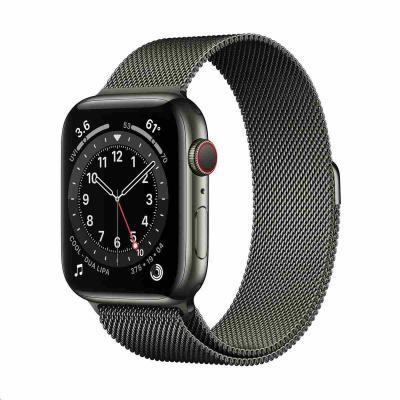 Apple Watch Series 6 GPS + Cellular, 40mm Graphite Stainless Steel Case + Graphite Milanese Loop