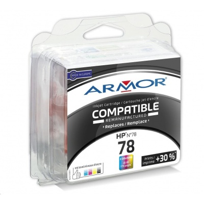 ARMOR cartridge pro HP DJ 920C/940C/960C/980C Color (C6578A)