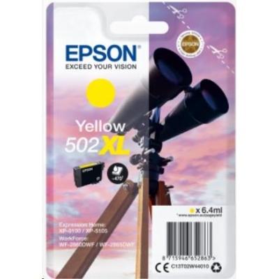 """EPSON ink bar Singlepack """"Dalekohled"""" Yellow 502XL Ink"""