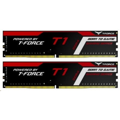 DIMM DDR4 16GB 2666MHz, CL18, (KIT 2x8GB), T-FORCE T1 Gaming Memory