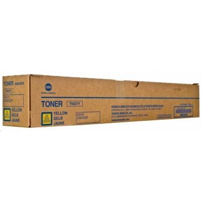 Minolta Toner TN-221Y, žlutý do bizhub C227, C287 (21k)