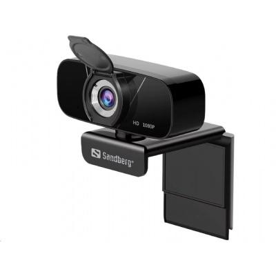 Sandberg USB kamera Webcam Chat 1080p, černá