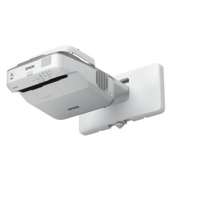 EPSON projektor EB-680Wi - 1280x800, 3200ANSI, HDMI, WXGA, SHORT, LAN, 10000h ECO, 5 LET ZÁRUKA