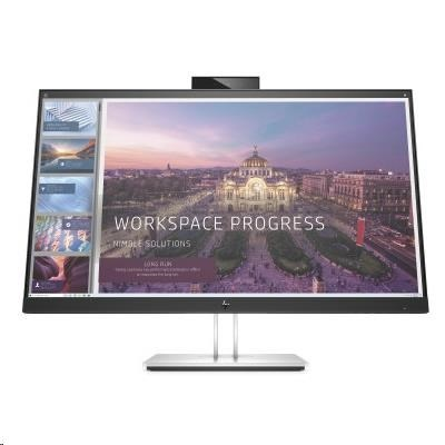 """HP LCD ED E24d G4 Docking Monitor 23,8"""",1920x1080,IPS w/LED,250,1000:1, 5ms,DP 1.2,HDMI, 4xUSB3,USB-C,webcam"""