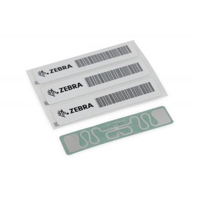 "Zebra RFID Label, Paper, 101,6x50,8mm, TT, Z-Perform 1500T, Coated, Permanent Adhesive, 3"" core, 2000/roll"