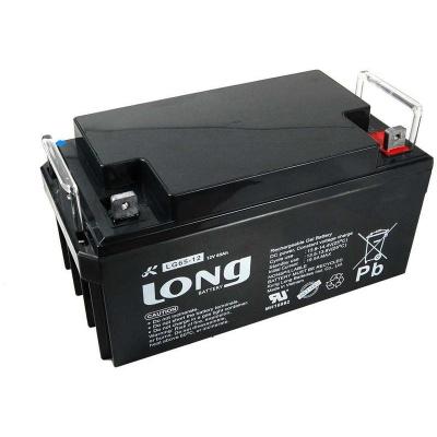 Long 12V 65Ah olověný akumulátor DeepCycle GEL F4
