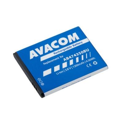 AVACOM baterie do mobilu Samsung G810, i8510 Li-Ion 3,7V 1200mAh (náhrada AB474350BU)