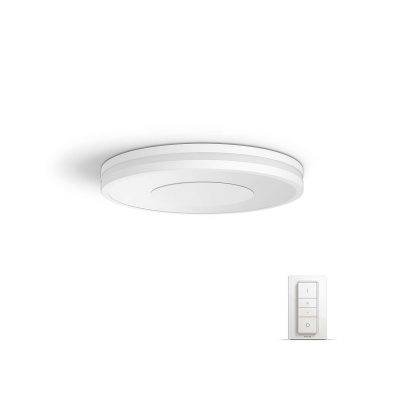 PHILIPS Being Stropní svítidlo, Hue White ambiance, 230V, 1x32W integ.LED, Bílá