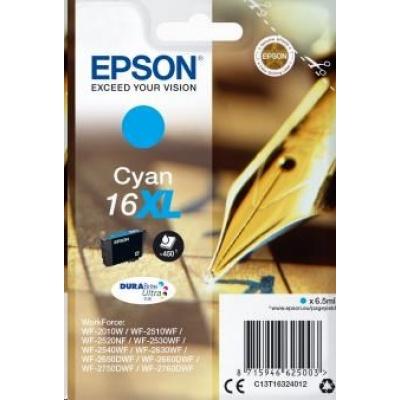"EPSON ink bar Singlepack ""Pero"" Cyan 16XL DURABrite Ultra Ink"
