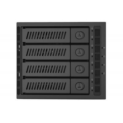 "CHIEFTEC SAS/SATA Backplane CMR-3141SAS, 3x 5,25"" for 4x 3,5"" HDDs/SSDs"