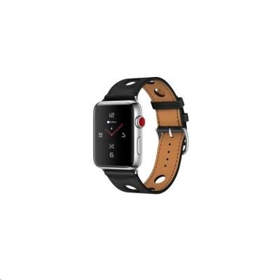 COTEetCI kožený řemínek pro Apple Watch 38 / 40mm černá
