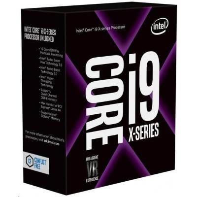 CPU INTEL Core i9-10940X 3,3 GHz 19,25MB L3 LGA2066 BOX (neobsahuje chladič)