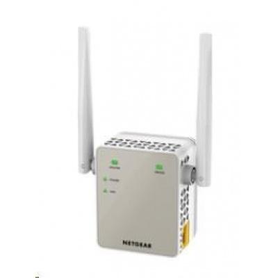 Netgear EX6120 Wireless AC1200 WiFi Range Extender, 1x 10/100 RJ45, přímo do zásuvky