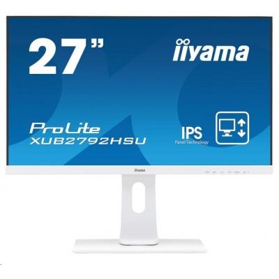 iiyama ProLite XUB2792HSU-W1, 68,6 cm (27''), white