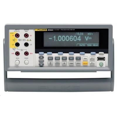 Stolní multimetr Fluke 8846A, 100 µ Ohm - 1 G Ohm, 1 µHz - 1 MHz, 1 nF - 0,1 F, 200 - 600 °C